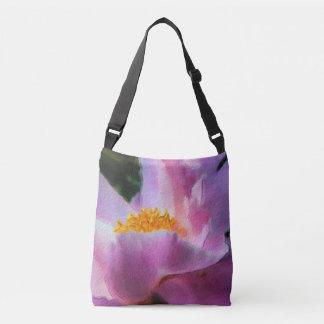 Pastel Peony Cross Body Bag