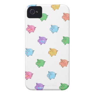 Pastel Pig Pattern Case-Mate iPhone 4 Case