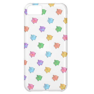 Pastel Pig Pattern Case For iPhone 5C