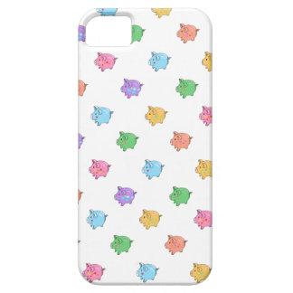 Pastel Pig Pattern iPhone 5 Case