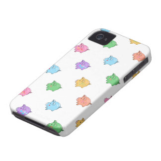 Pastel Pig Pattern iPhone 4 Case-Mate Cases