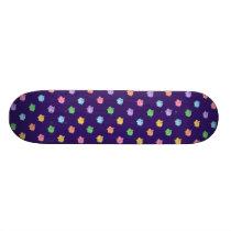 Pastel Pig Pattern Skateboard Deck