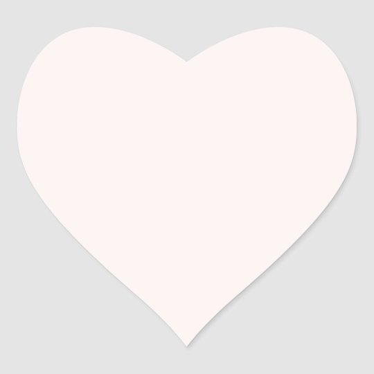 Pastel Pink 2 Heart Sticker