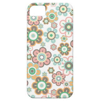 Pastel Pink Candy Daisies Flowers Girly Pattern iPhone SE/5/5s Case