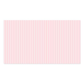 Pastel Pink Candy Stripes. Business Card