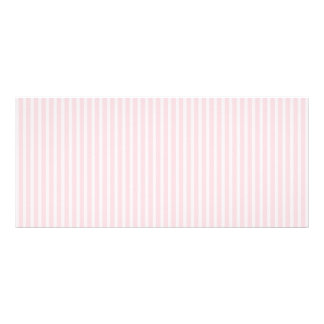 Pastel Pink Candy Stripes. Custom Rack Cards