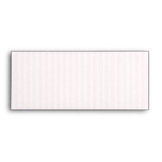 Pastel Pink Candy Stripes. Envelope