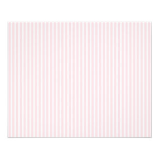 Pastel Pink Candy Stripes. Flyer