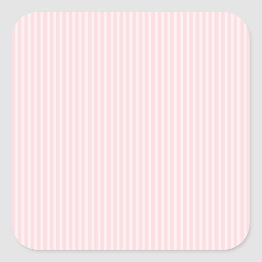 Pastel Pink Candy Stripes. Stickers