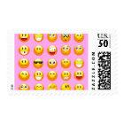 pastel pink emoji postage postal stamps