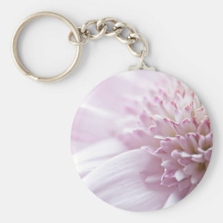 Pastel Pink Flowers Keychain