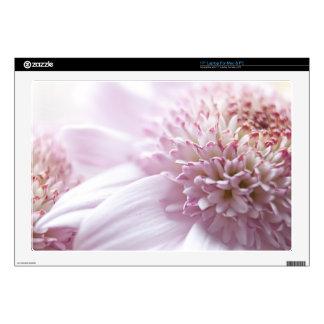 """Pastel Pink Flowers 17"""" Laptop Skins"""