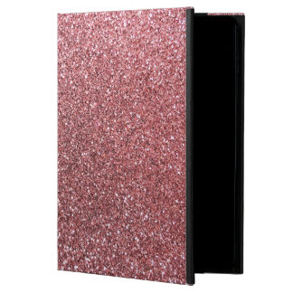 Pastel pink glitter powis iPad air 2 case