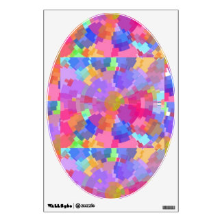 Pastel, Pink, Multi Color - Art for Your Toilet Wall Graphics