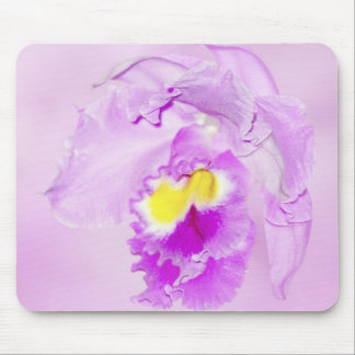 Pastel Pink Orchid Mouse Pad