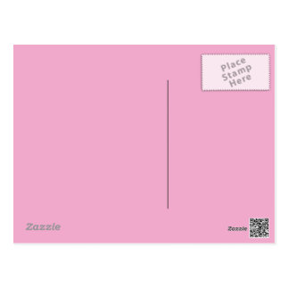 Pastel Pink Postcard