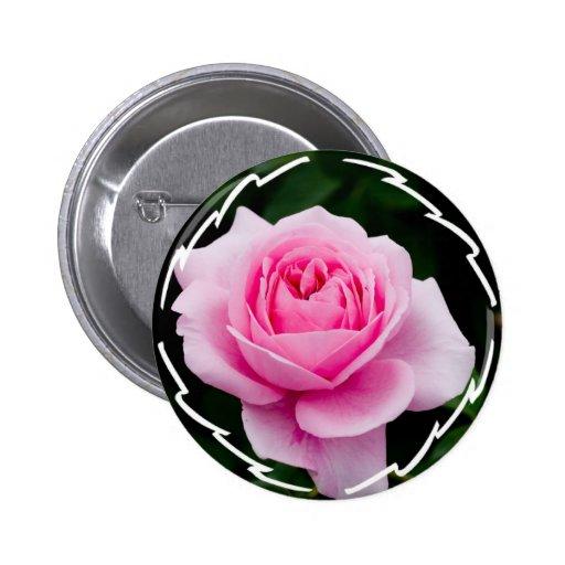 Pastel Pink Rose Button