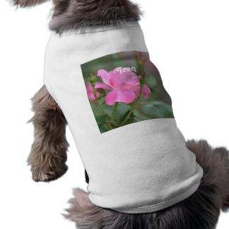 Pastel Pink Rose in Iraq Tee