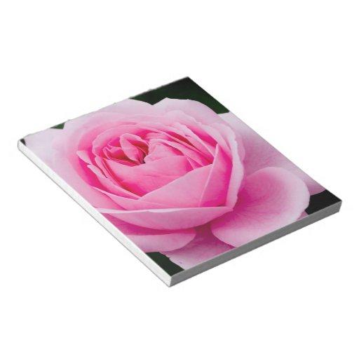 Pastel Pink Rose Notepad