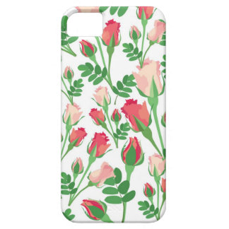 Pastel Pink Rosebuds iPhone SE/5/5s Case