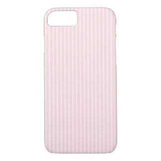 Pastel Pink Stripes. iPhone 8/7 Case