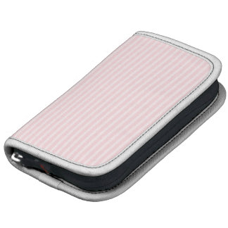 Pastel Pink Stripes Folio Planners