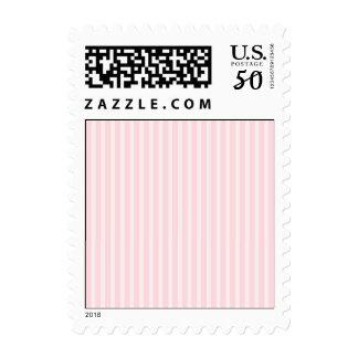 Pastel Pink Stripes. Postage