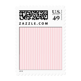 Pastel Pink Stripes. Postage Stamps