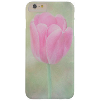 Pastel Pink Tulip Phone Case Barely There iPhone 6 Plus Case