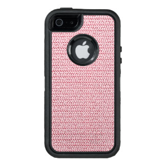 Pastel Pink Weave Mesh Look OtterBox iPhone 5/5s/SE Case