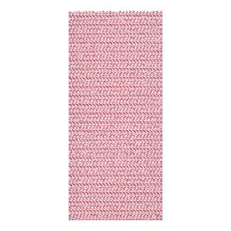 Pastel Pink Weave Mesh Look Rack Card