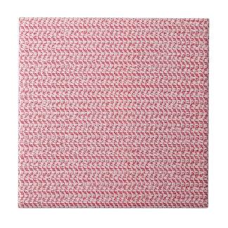 Pastel Pink Weave Mesh Look Tile