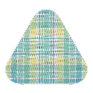 Pastel Plaid Bluetooth Speaker