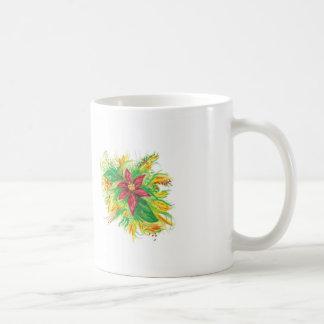 Pastel Poinsettia Coffee Mug