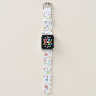 Pastel Polka Dot Apple Watch Band