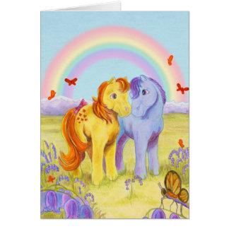 Pastel Pony Friends Cards