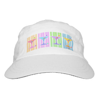 PASTEL POP ART MARTINIS HAT