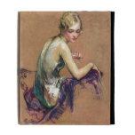 Pastel Portrait iPad Folio Case