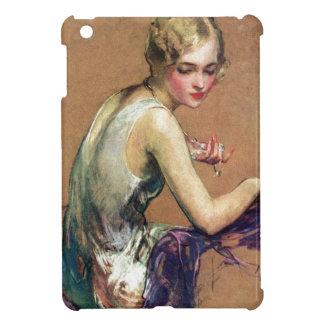 Pastel Portrait iPad Mini Covers