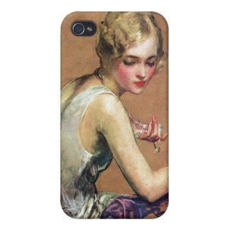 Pastel Portrait iPhone 4 Case