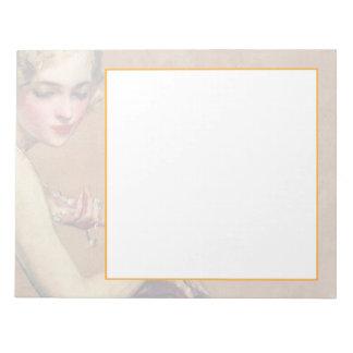 Pastel Portrait Notepad