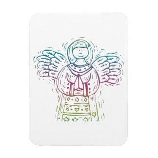 Pastel Praying Angel Vinyl Magnet