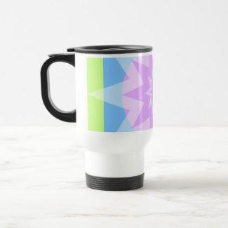 pastel pretty stars mug