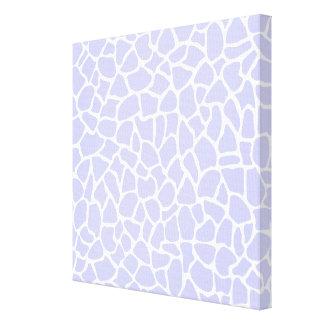 Pastel Purple Animal Print Giraffe Pattern