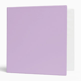 Pastel Purple Binders