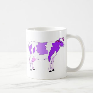 Pastel Purple Cow Coffee Mug