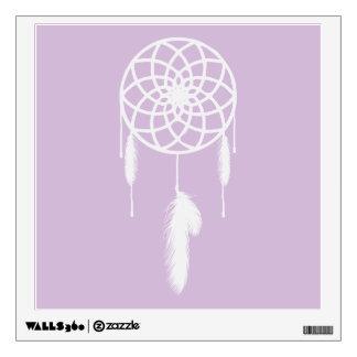 Pastel Purple Dream Catcher Wall Graphics