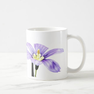 Pastel Purple Flower Coffee Mug