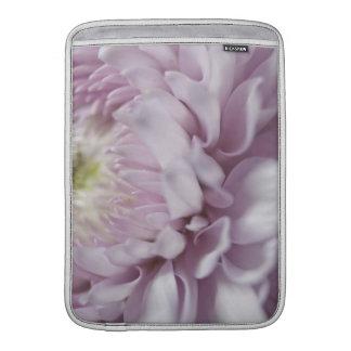 Pastel Purple Flower MacBook Sleeves