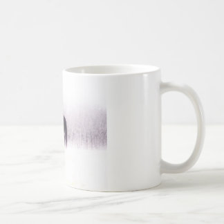 Pastel purple horse in the fog coffee mug